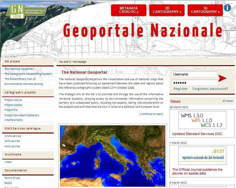 Open Data in Italy: State of the Art at national level (4/4) Geological