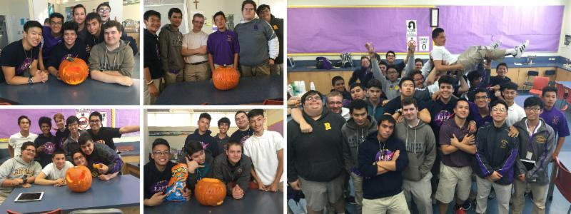 "Marianist LIFE Community (MLC): ""Pumpkin Palooza"" ARHS October 20, 2016 A collaboration with the DJ Club and LIFE Team,"