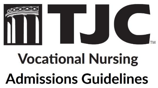 The Tyler Junior College Vocational Nursing Program is a one year, 48-credit hour curriculum leading to a certificate of proficiency-vocational Nursing.