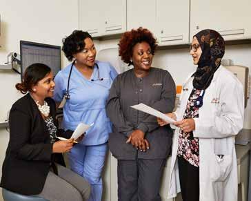 RIGHT IN YOUR NEIGHBORHOOD Compassionate AdvantageCare Physicians patient-centered medical home model of care focuses on gaining better health outcomes for you.
