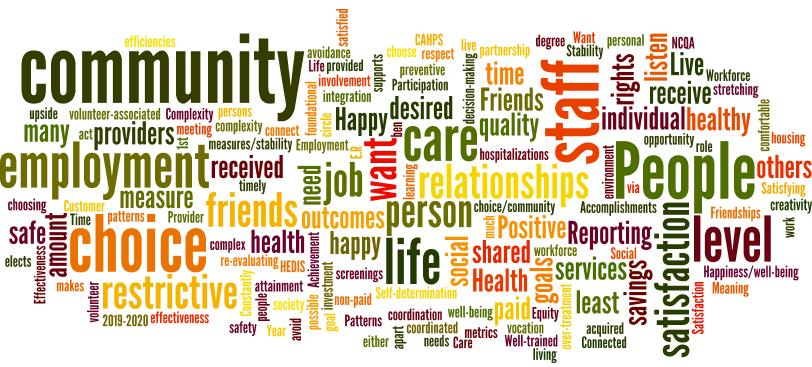 A Thematic, Schematic Interpretation of Results 39 The word cloud below is a visual presentation of qualitative data