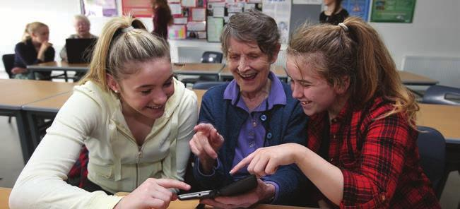 Technology A CASE STUDY Gardai & Students Tec-sperts Programme The Tec-sperts programme is a pilot project to champion intergenerational training between secondary schools transition year students