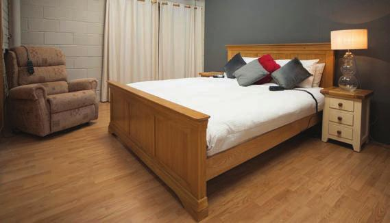 Commercial Profile Caring in the Community Care to Comfort s goal is to fit the right bed to the right person, because the right bed improves the quality of sleep and boosts overall health.