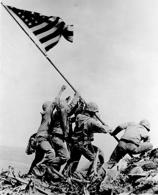 Iwo Jima The United States strategy in the Pacific was known as island hopping; that is, key islands were captured, and air bases built.