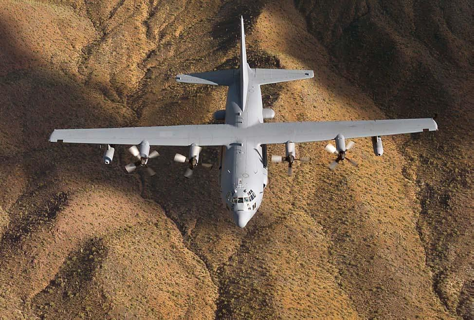 Figure 1-13- EC-130H Mission and Tasks The EC-130H s mission is to disrupt enemy command and control information systems and limit the coordination essential for force management.