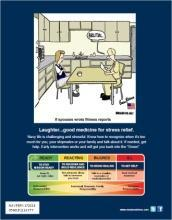 "11""x14"" two sided with Stress Continuum 0500LP1105802 172019 OSC PCS Cartoon (poster -"