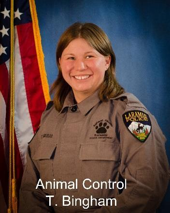 Animal Control The Animal Control Division of the Laramie Police
