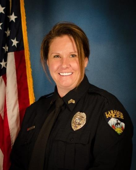 promoted from Officer to Sergeant Kimberly Judd