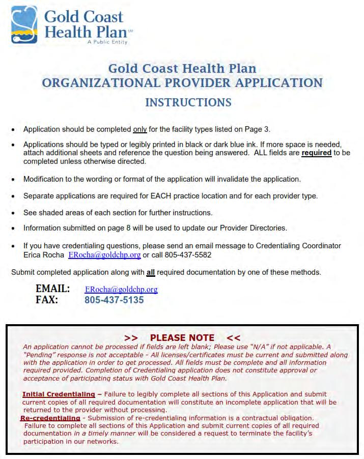 Ventura County MediCal Managed Care Commission (VCMMCC) dba