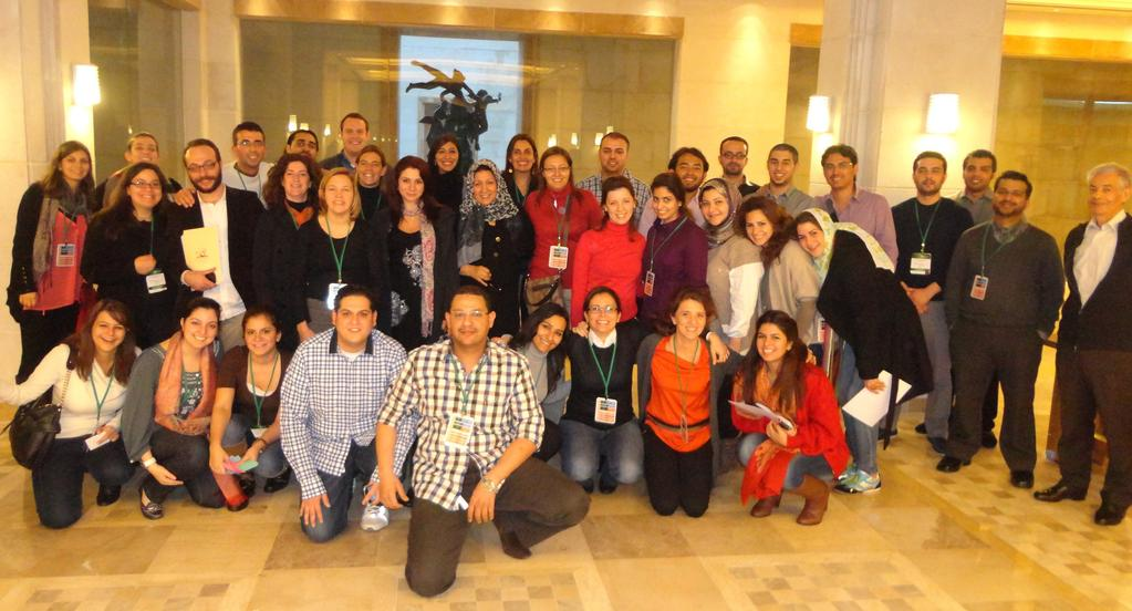 Member Nations Celebrations INJAZ Al-Arab held its fourth Annual MENA Training (AMT) in Broumana, Lebanon in February 2012.