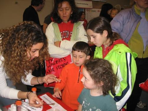 Broad dissemination Examples of activities: Partner with museums, nature centers, science centers, and similar institutions to develop exhibits in science, math, and engineering Give science and