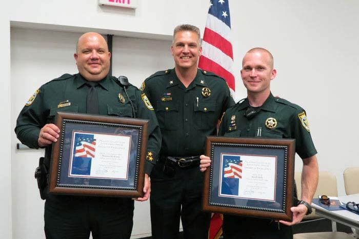 OCSO LAW ENFORCEMENT OFFICER OF THE YEAR NOMINEES Congratulations to Choctawhatchee High School Resource Officer Deputy Tom Henry and Deputy Heath Hehl.
