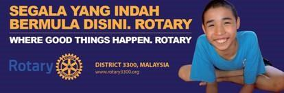 As we celebrate the new Rotary year and usher in the theme Light-Up Rotary, we
