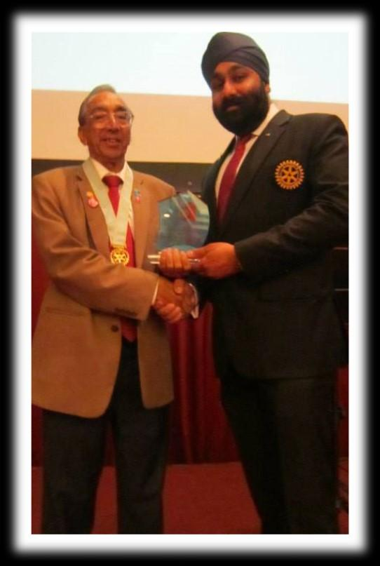 Sponsorship of New Clubs Rotary Club of Greater KL & Rotary