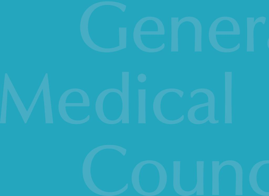Identifying children and young people in need Making sure all licensed doctors have the