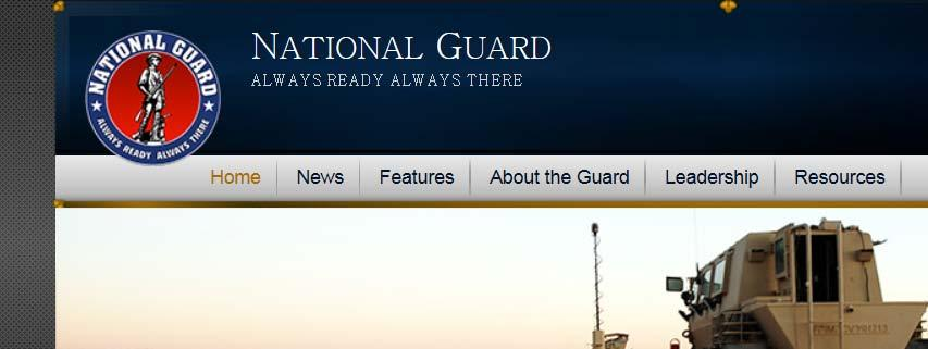 Visit often National Guard Small