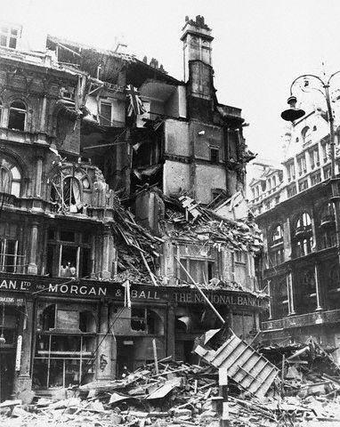 Battle of Britain Summer 1940 London was bombed for 57 consecutive nights during the infamous