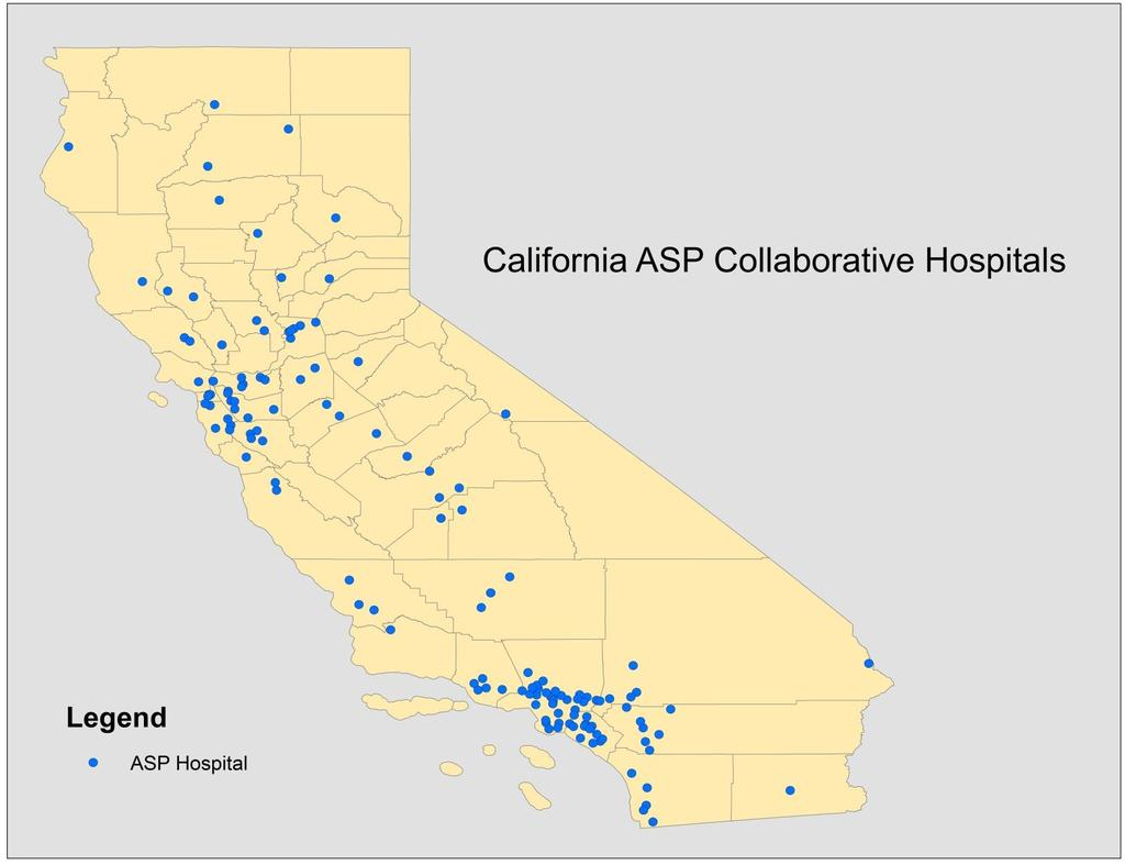 19 150 California Hospitals Are Participating in 2015 ASP Collaborative Hospital Type No.