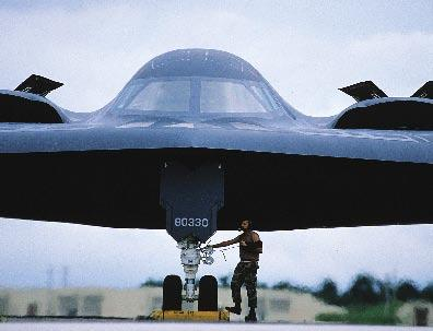 The sophisticated B-2s recently received a designation of forward operating location approved.