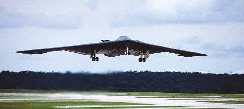 During the latest deployment, the B-2s carried weapons such as 500-pound and 2,000-pound versions of Joint Direct