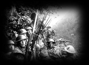 30 AM, thousands of British and French troops began their advance across No Man's Land on a