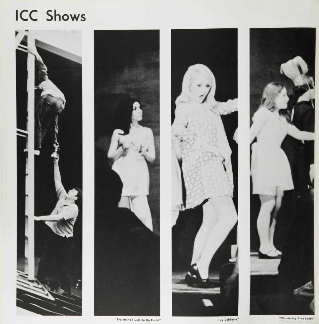 "ICC Shows f X- ""Everything's Coming Up"