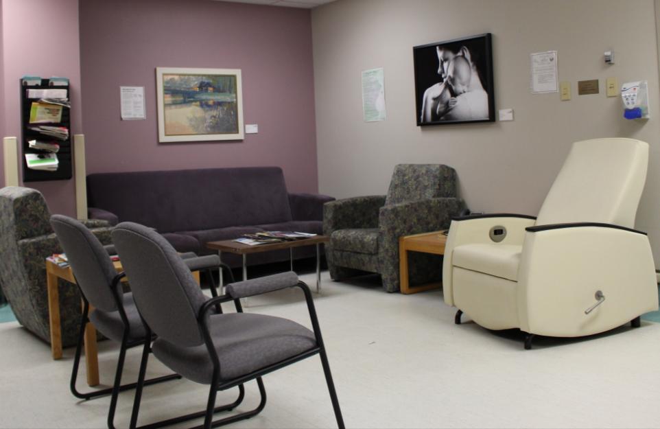 OB Triage - Labour lounge Lounge is available for support people