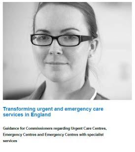 New system-wide indicators and measures Local capacity planning tool Transforming urgent and emergency care in