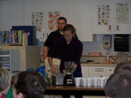 Build Your Own Shake Up at RMS We received funding for Dietitians from St.