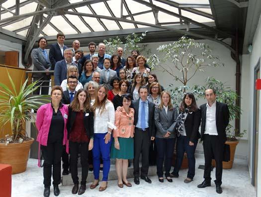 The second interim mee ng of the consor um was held in Lyon from 9 to 10 July.