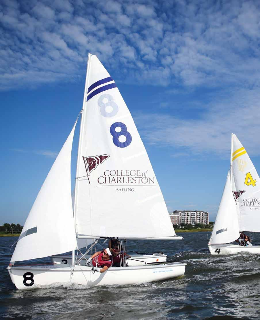After winning back to back national championships in 2012 and 2013, the sailing team remains one of the premier programs in the country.