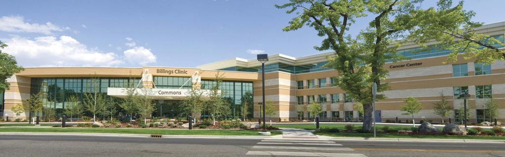 Our Mission: Health Care, Education, Research Our Vision: Billings Clinic will be