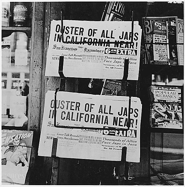42) -FDR s order for 120,000 West Coast Japanese Americans to be resettled in relocation camps