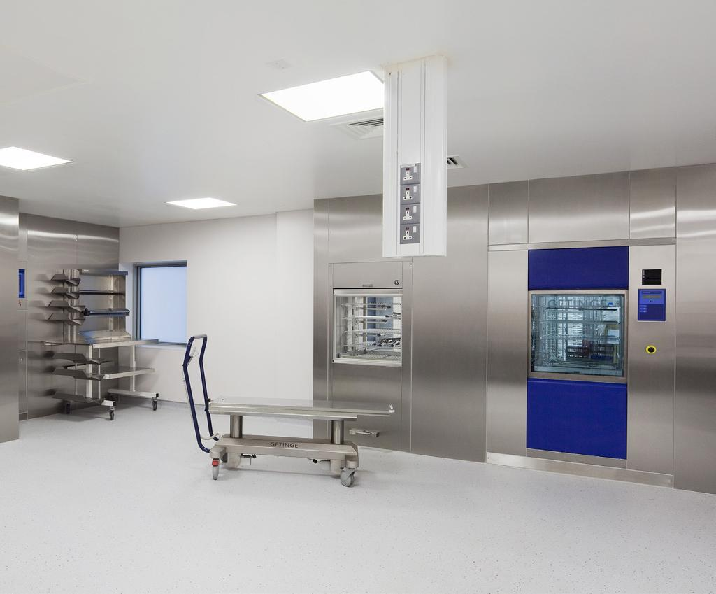 Letterkenny General Hospital, Donegal We installed the complete range of electrical services to the extension of this existing hospital.
