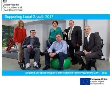 Lots of case studies are available in the November 2017 edition of Supporting Local Growth, available at