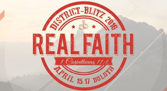 JR AND SR HIGH DISTRICT BLITZ 2016 - REAL FAITH - 1 CORINTHIANS 11:1 What does a relationship with God really look like? How does it work? How do you communicate? How do you interact?