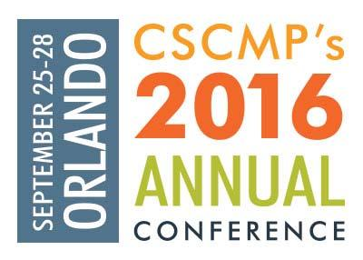 CSCMP 2016 Annual Conference September 25th through 28th,