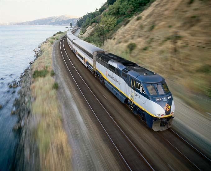 CAPITOL CORRIDOR Capitol Corridor Connecting Local Services San Francisco Bay Area Bay Area Rapid Transit (BART) connects San Francisco, San Francisco International Airport, and the East Bay.