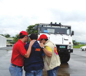 Hands-on experience in disaster emergency response,