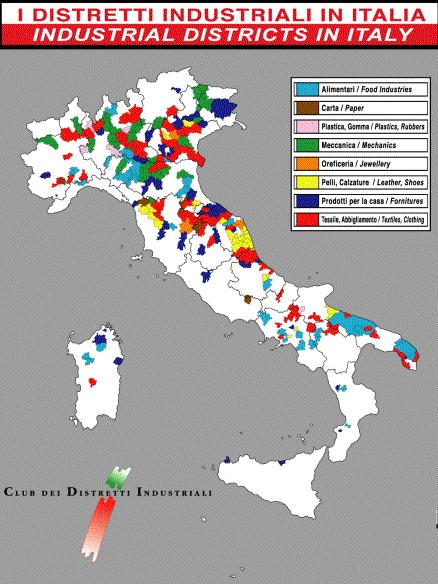 CLUSTERS II. Italian industrial districts.