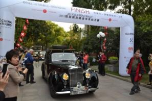 Newsletter of the Consulate General of Switzerland in Shanghai November 2013 14 The Oldtimers arrive in Shanghai Silk Road Rally 2013: from Istanbul to Shanghai After having followed 12,000 km of