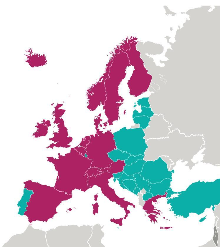 COST 45 years of research collaboration 36 COST Members Austria, Belgium, Bosnia and Herzegovina, Bulgaria, Croatia, Cyprus, Czech Republic, Denmark, Estonia, Finland, France, Germany, Greece,