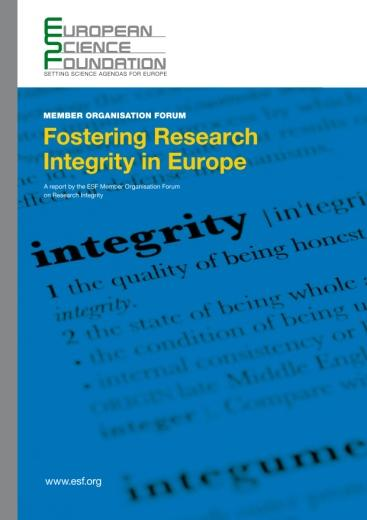 procedures o Joint activities Recent results: European Code of Conduct for Research