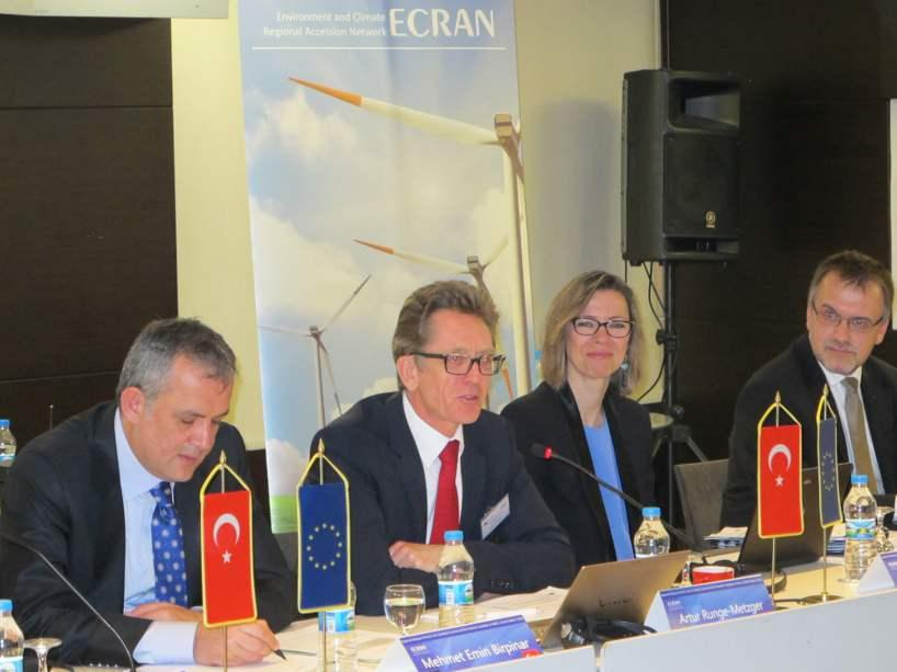 Regional Dialogue of the EU, the Candidate Countries and the Poten al Candidate Countries on Intended Na onally Determined Contribu ons (INDCs) to the 2015 Climate Agreement (28 April 2015, Istanbul,