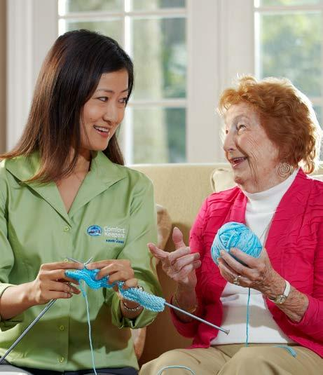 The Comfort Keepers Difference Comfort Keepers offers quality, loving, in-home care services for families just like yours.