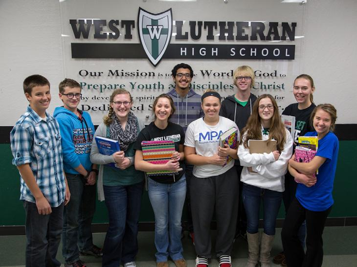 Growing... West Lutheran concentrates on college placement.