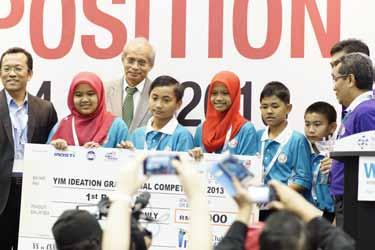 00 & Trophy Team Name: Those Guys & That Girls School: SMK Ibrahim State: Kedah Idea: The Wow Machine Invention Description: An ingenious and