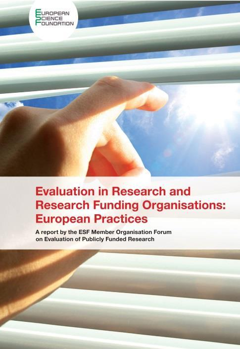 SERVICES Evaluation services Ex-ante evaluation (of programmes or schemes) Monitoring and mid-term evaluation (activities or programmes) Ex-post evaluation and strategy (schemes, organisations, etc)