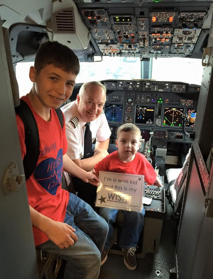Every mile donated helps wish kids and their families travel to destinations around the world.