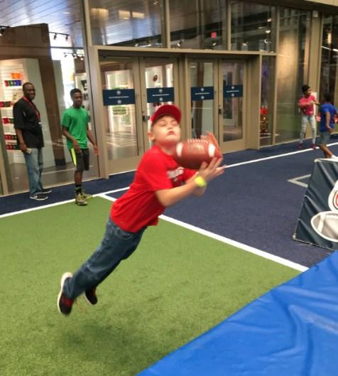 College Football Hall of Fame Indoor Playing